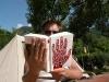vakantie is veel lezen