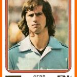 Gerd MULLER 1974 Panini