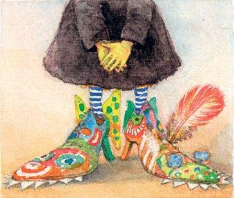schoenen van platvoetje